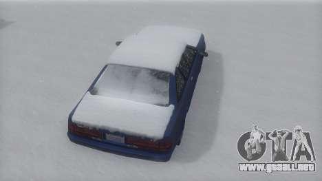 Cadrona Winter IVF para la visión correcta GTA San Andreas