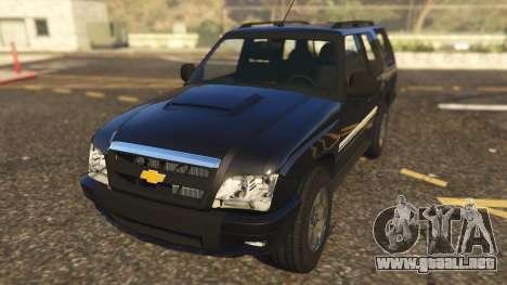 Chevrolet Blazer 4x4 para GTA 5