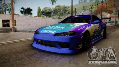 Nissan Silvia S15 BN-Sports para la visión correcta GTA San Andreas