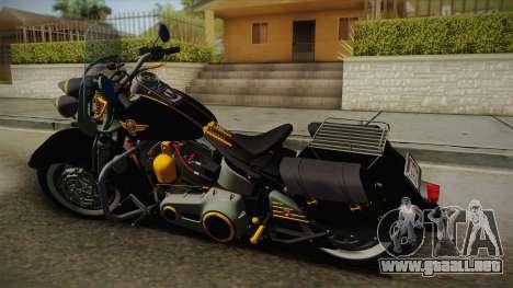 Harley-Davidson Fat Boy Lo Vintage 1992 v1.1 para GTA San Andreas left