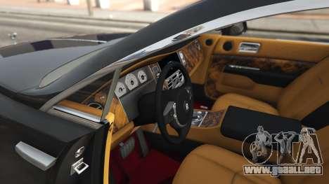 GTA 5 Rolls-Royce Wraith 2015 vista lateral derecha
