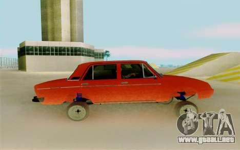 Phoenix ВАЗ 2106 para GTA San Andreas left