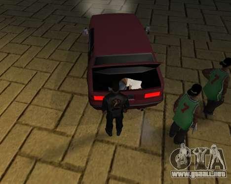 Para llevar el cadáver de 2016 para GTA San Andreas décimo de pantalla