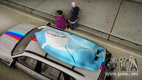 BMW X5M 2012 Special para visión interna GTA San Andreas