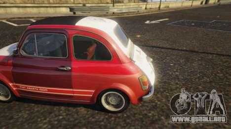 Fiat Abarth 595ss Racing ver para GTA 5
