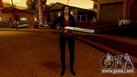 Resident Evil Revelations 2 - Claire Biker para GTA San Andreas segunda pantalla