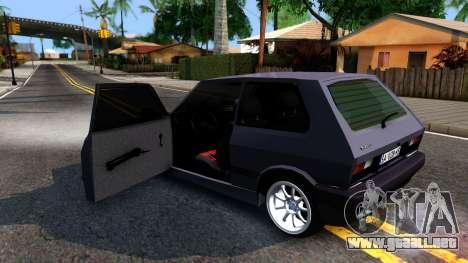 Yugo Koral 45 Sport Tuning para visión interna GTA San Andreas