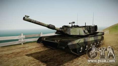 Abrams Tank Woolant Camo para GTA San Andreas