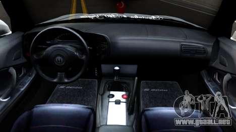Honda S2000 para visión interna GTA San Andreas