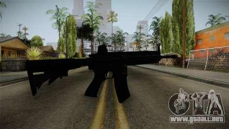 HK416 v1 para GTA San Andreas segunda pantalla