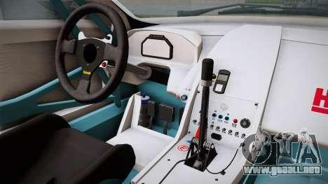 Aston Martin Racing DBRS9 GT3 2006 v1.0.6 YCH para visión interna GTA San Andreas
