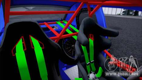 Subaru Impreza WRX STI WRC Rally 2005 para la visión correcta GTA San Andreas