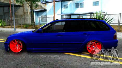BMW E46 Touring Facelift para GTA San Andreas left