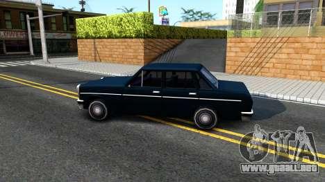 Perennial Sedan para GTA San Andreas left