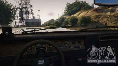 GTA 5 TLAD Regina Sedan vista lateral derecha