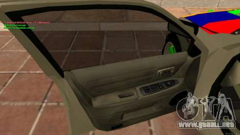Toyota Altezza Armenian para GTA San Andreas vista hacia atrás