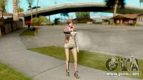Resident Evil Revelations 2 - Moira Burton para GTA San Andreas tercera pantalla