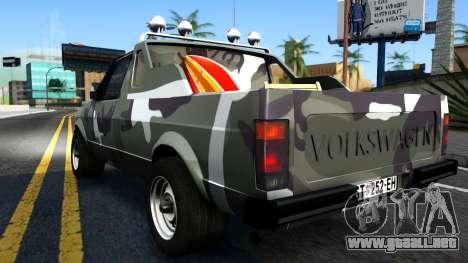 Volkswagen Caddy para la visión correcta GTA San Andreas
