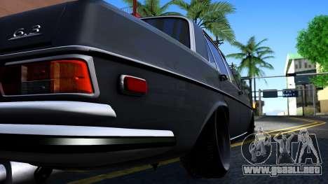 Mercedes-Benz 300SEL 6.3 para visión interna GTA San Andreas