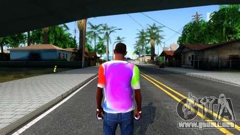 Mix T-Shirt para GTA San Andreas tercera pantalla