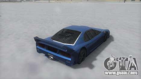 Turismo Winter IVF para la visión correcta GTA San Andreas