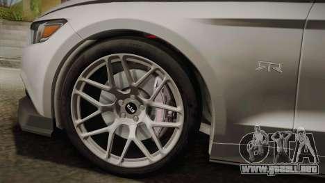 Ford Mustang RTR Spec 2 2015 para GTA San Andreas vista posterior izquierda