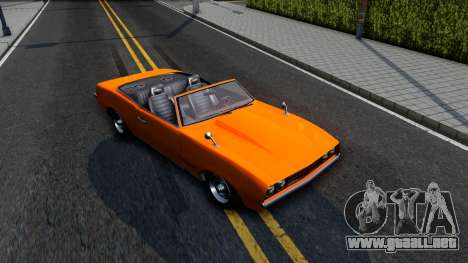 GTA V Declasse Vigero Retro Rim para la visión correcta GTA San Andreas