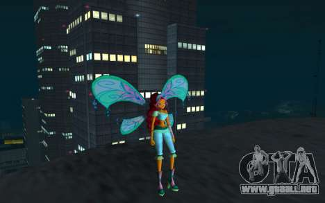 Aisha Believix from Winx Club Rockstars para GTA San Andreas