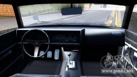 GTA V Declasse Vigero para visión interna GTA San Andreas
