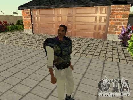 Lance Vance (Blackie) para GTA San Andreas segunda pantalla