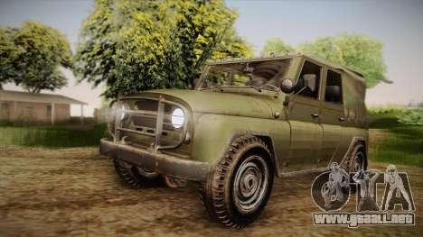 УАЗ-3151 CoD4 MW Remastered FIV para GTA San Andreas