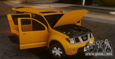 Nissan Pathfinder para la visión correcta GTA San Andreas