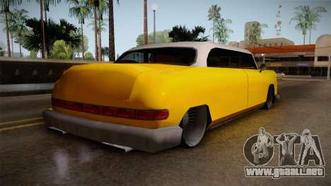 Custom Cab para GTA San Andreas left