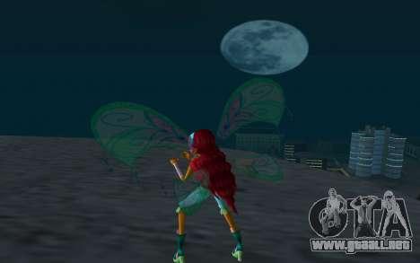 Aisha Believix from Winx Club Rockstars para GTA San Andreas tercera pantalla