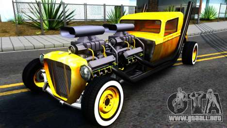 Hotknife Double V8 para GTA San Andreas