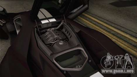 Ford GT 2017 Heritage Edition para GTA San Andreas interior