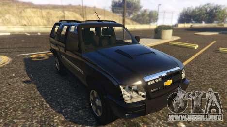 GTA 5 Chevrolet Blazer 4x4 vista trasera
