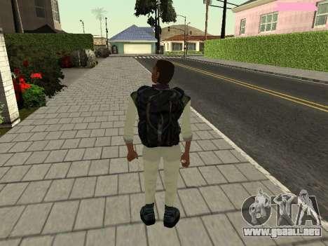 Lance Vance (Blackie) para GTA San Andreas tercera pantalla