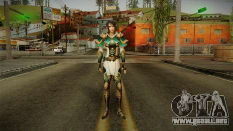Dynasty Warriors 8 - Xing Cai para GTA San Andreas segunda pantalla