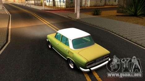 Skoda 100 para GTA San Andreas vista posterior izquierda