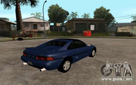 Toyota MR2 GT para GTA San Andreas left