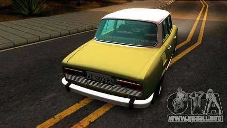Skoda 100 para la visión correcta GTA San Andreas