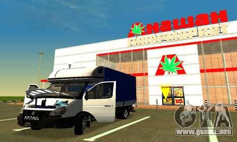 Gazelle 3302 para visión interna GTA San Andreas
