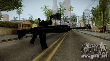 HK416 v2 para GTA San Andreas segunda pantalla