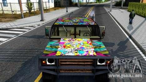 Sticker Patriot para la visión correcta GTA San Andreas