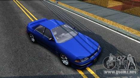 GTA V Zirconium Stratum Sedan para la visión correcta GTA San Andreas