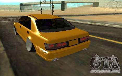 Crown S170 para GTA San Andreas vista posterior izquierda