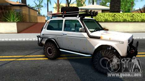 Lada Niva 4x4 Off Road para GTA San Andreas left