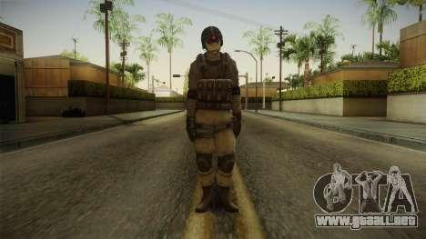 Resident Evil ORC - USS v2 para GTA San Andreas segunda pantalla