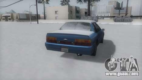 Previon Winter IVF para la visión correcta GTA San Andreas